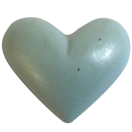 Poly Heart C-2020-25pcs Light Blue (RRP $7.23)