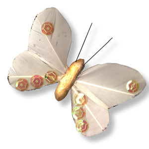 Feather Butterfly C-2051-10pcs (RRP $2.27)