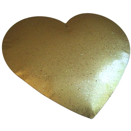 Zinc Heart C-2063-12pcs Gold (RRP $5.41)
