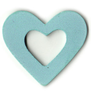 100 Gifttag Hollow Heart C-3020 Pale Blue ($0.05/pc) (RRP $4.5)