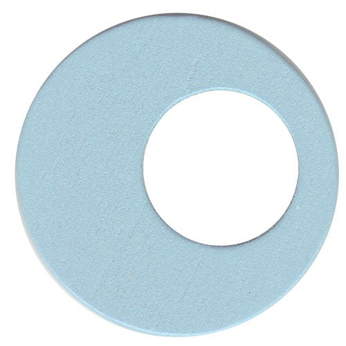 100pcs Hollow Circle - Pale Blue ($0.05/pc) (RRP $4.5)