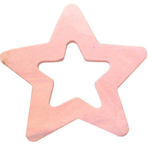100 Hollow Star - Pink ($0.05/pc) (RRP $4.5)