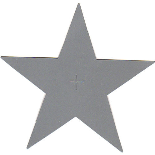 50 Paper Star Tag - Silver ($0.36/pc) (RRP $18.14)