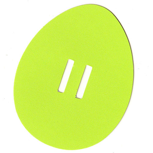 Easter Egg Tag - Green-3072