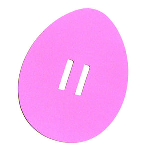 Easter Egg Tag - Pink-3073