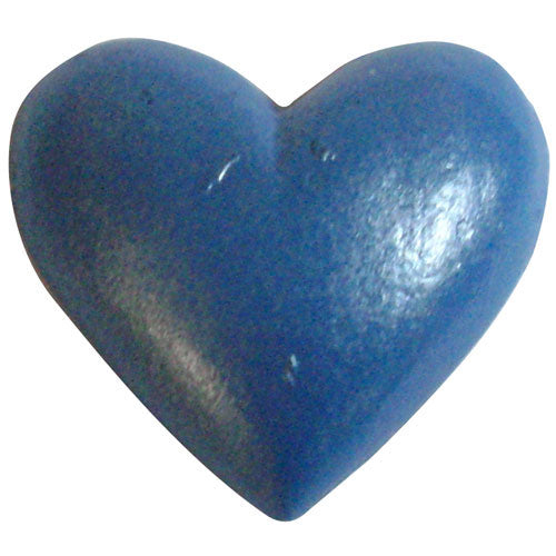 Poly Heart C-7370-25pcs Blue (RRP $3.18)