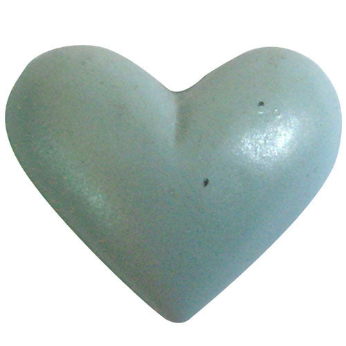 Poly Heart C-7370-25pcs Light Blue (RRP $3.18)