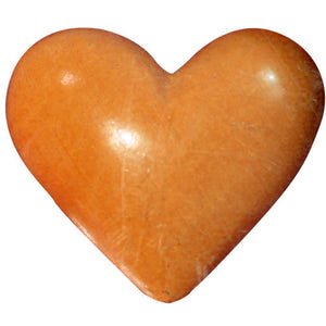 Poly Heart C-7370-25pcs Orange (RRP $3.18)