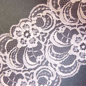 Rose Raschel Lace 20M-95MM-ROSE