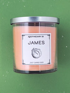 James 9 oz. single wick Candle