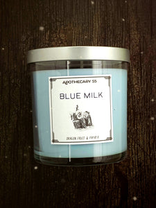 Blue Milk 9 oz. single wick candle