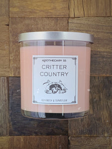 Critter Country 9 oz. single wick candle