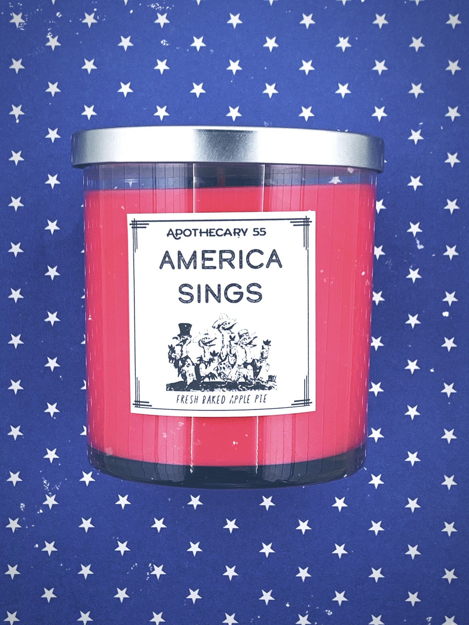 America Sings 9 oz. single wick candle