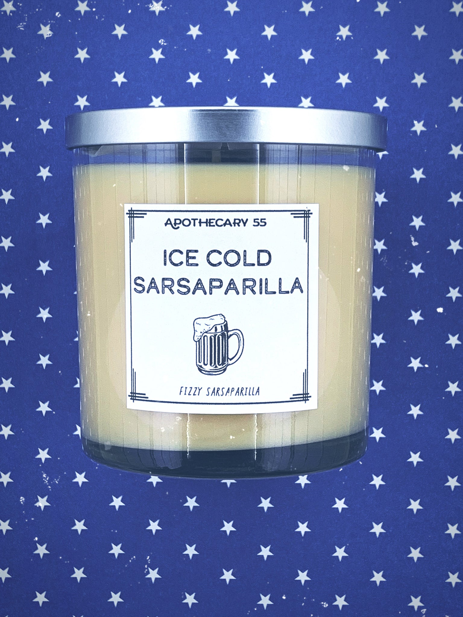 Ice Cold Sarsaparilla 9 oz. single wick candle