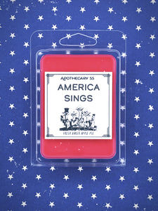 America Sings wax melts