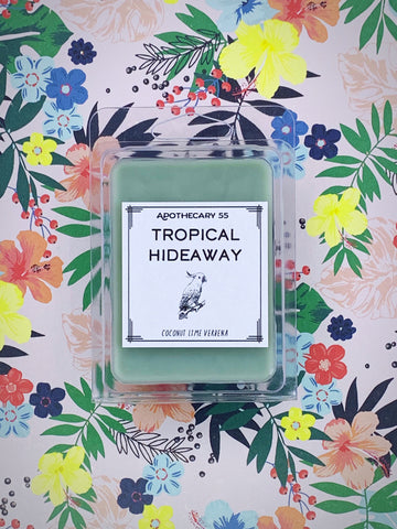 Tropical Hideaway wax melt