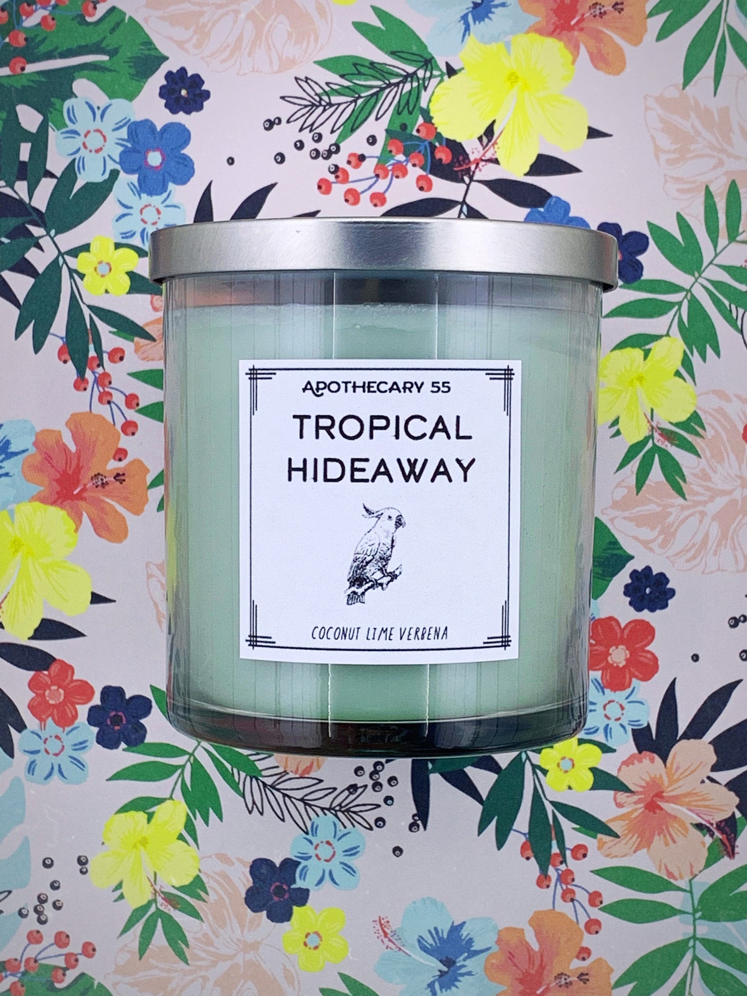 Tropical Hideaway 9 oz. single wick candle