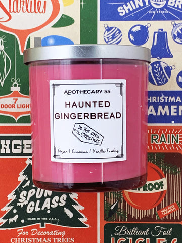 Haunted Gingerbread 9 oz. single wick candle