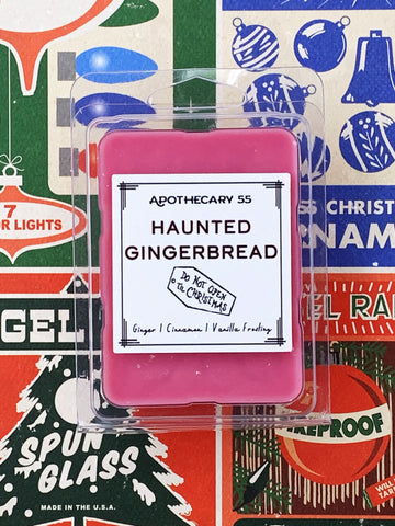 Haunted Gingerbread wax melt