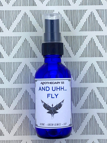 And Uh...Fly Hand Sanitizer Spray 2 oz.