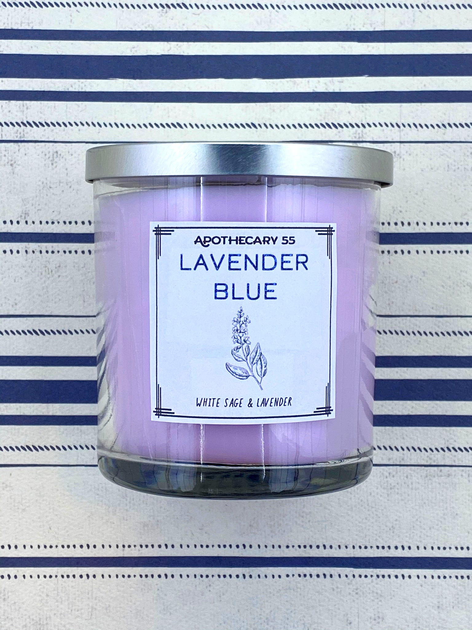 Lavender Blue 9 oz. single wick candle