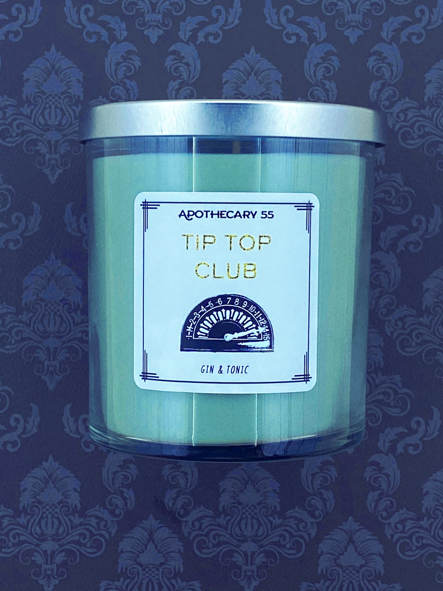 Tip Top Club 9 oz. single wick candle