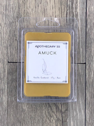 Amuck wax melt