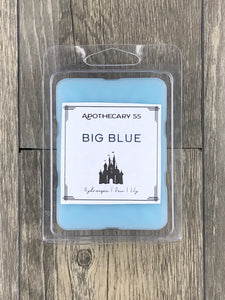 Big Blue wax melt