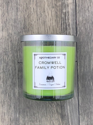 Cromwell Family Potion 9 oz. single wick candle