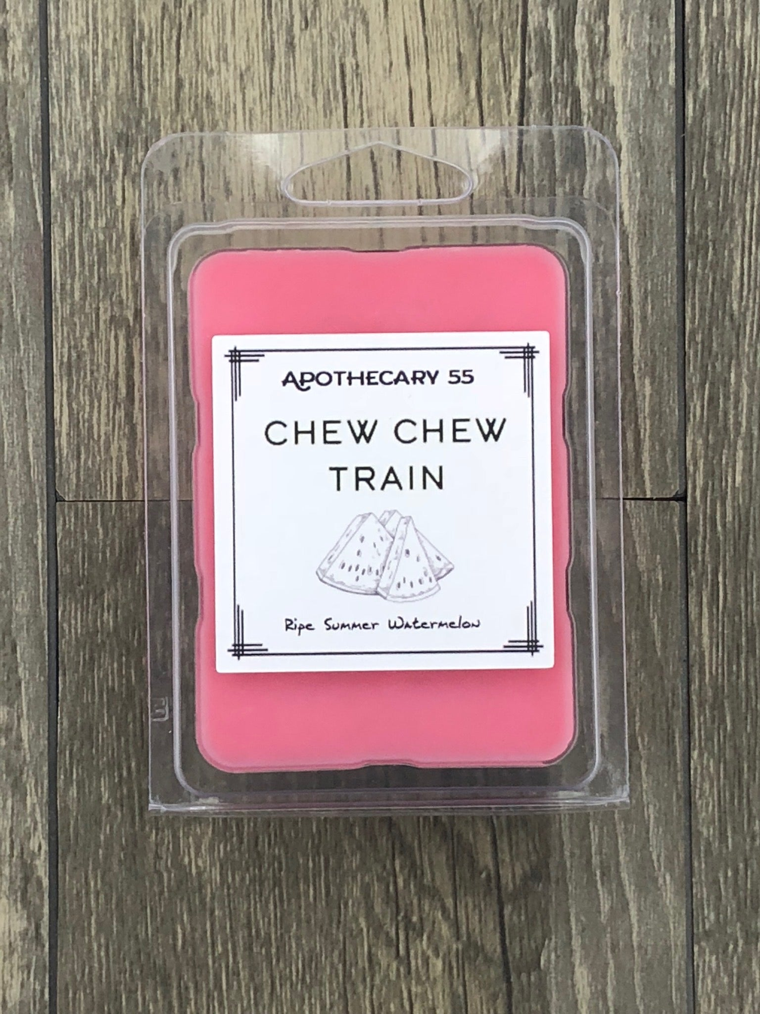 Chew Chew Train wax melt