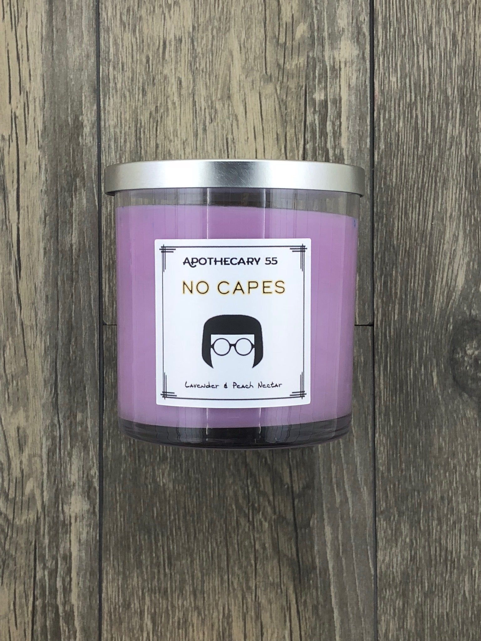 No Capes 9 oz. single-wick candle