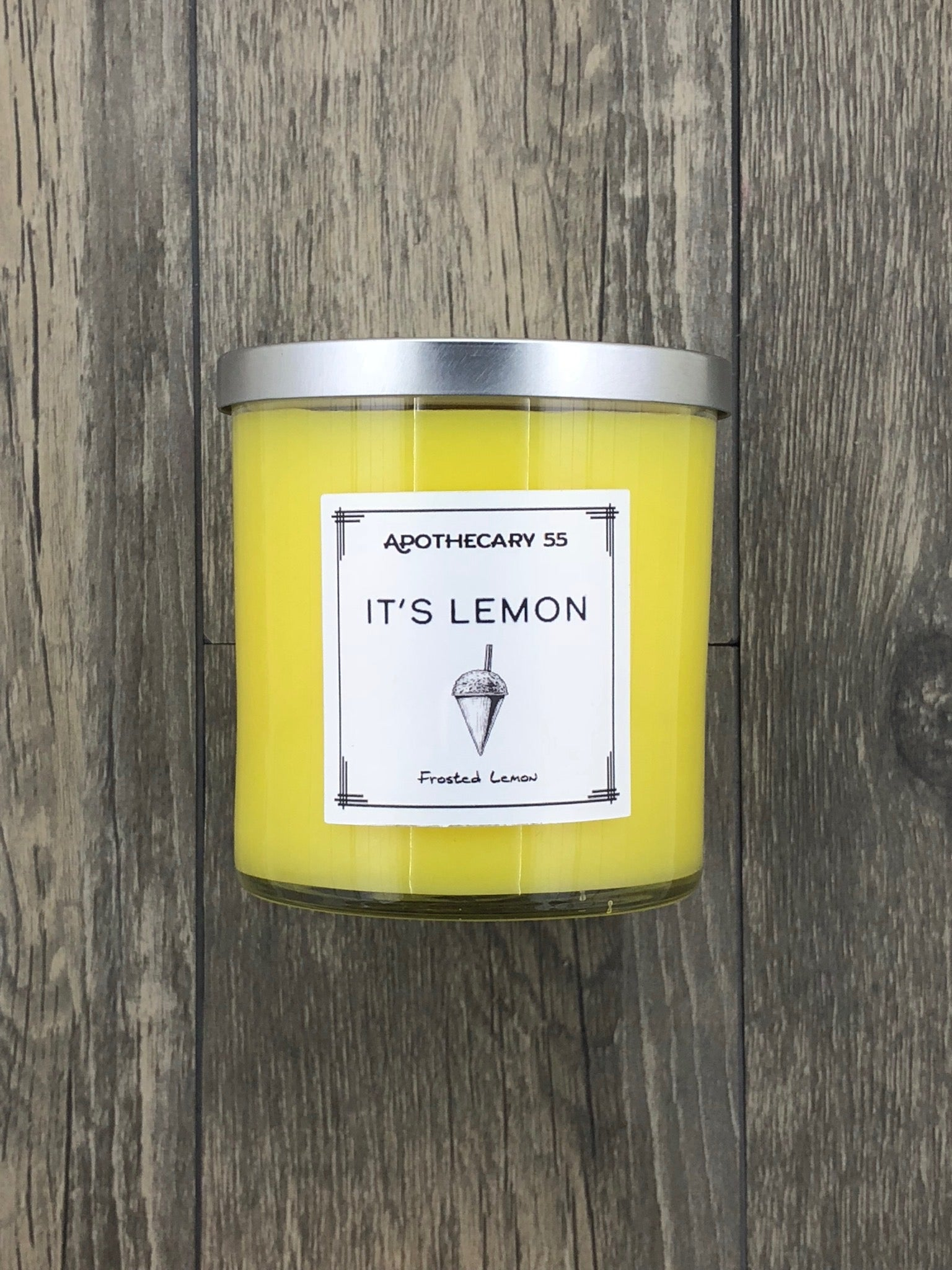 It's Lemon 9 oz. single-wick candle