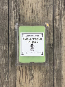 Small World Holiday wax melt