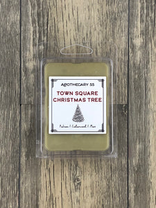 Town Square Christmas Tree wax melt
