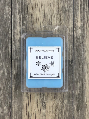 Believe wax melt