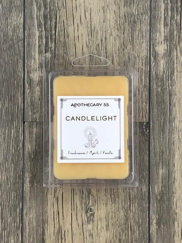 Candlelight wax melt