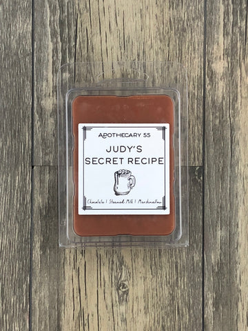 Judy's Secret Recipe wax melt