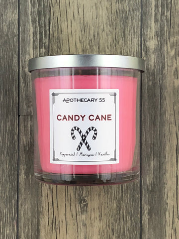 Candy Cane 9 oz. single wick candle
