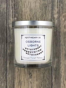 Osborne Lights 9 oz. single-wick candle