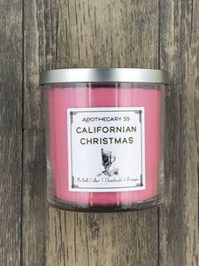 Californian Christmas 9 oz. single wick candle