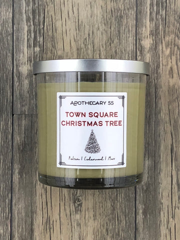 Town Square Christmas Tree 9 oz. single-wick candle