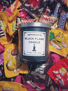 Black Flame Candle 9 oz. single wick candle