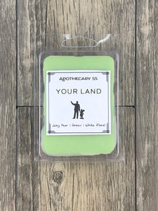 Your Land wax melt