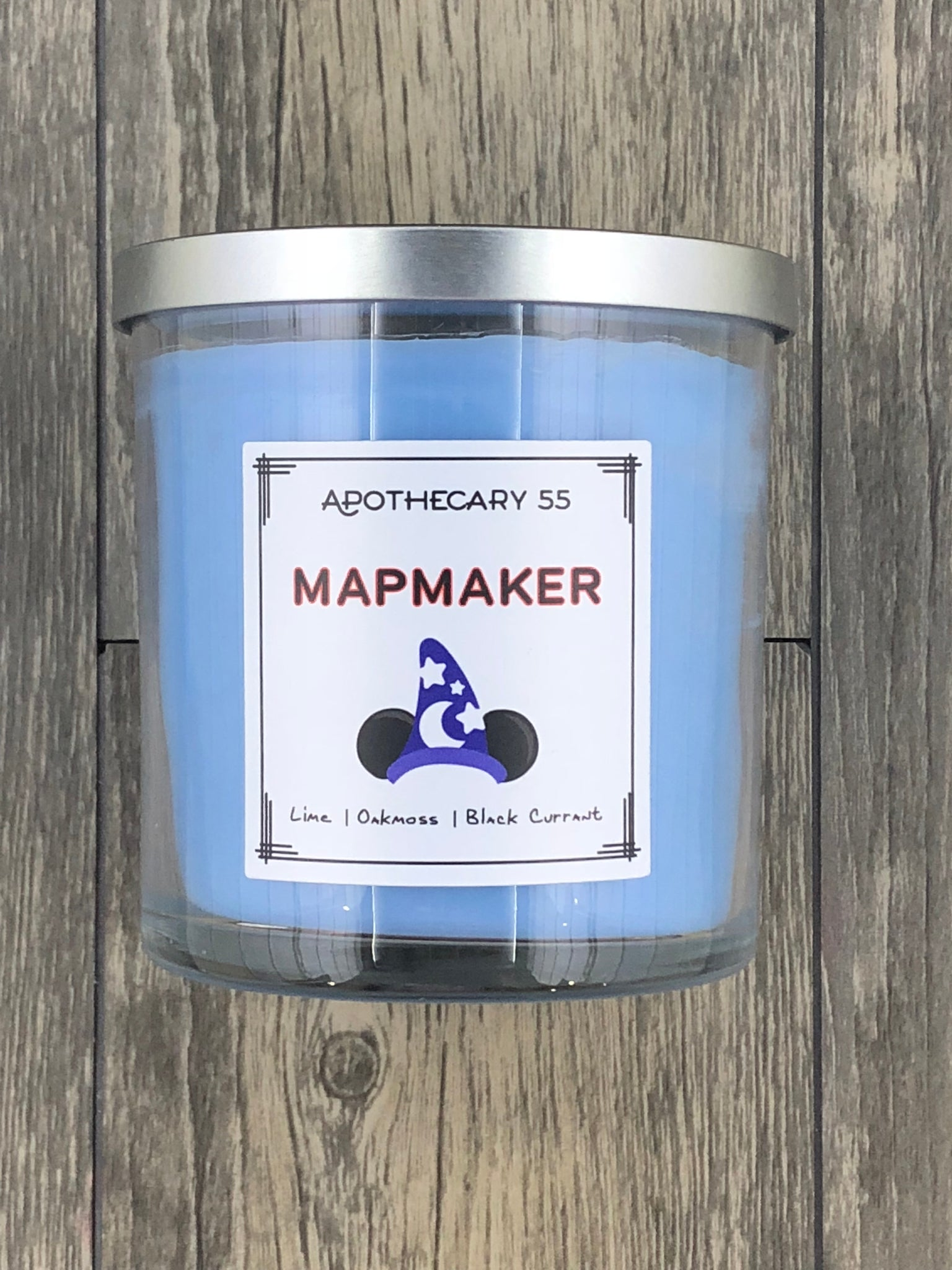 Mapmaker 9 oz. single wick candle