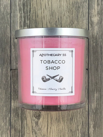 Tobacco Shop 9 oz. single wick candle