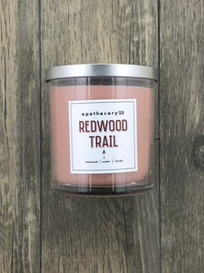 Redwood Trail 9 oz. single wick candle