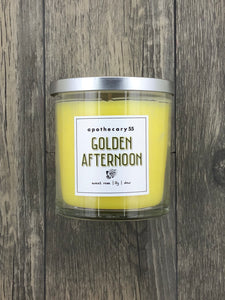 Golden Afternoon 9 oz. single wick candle