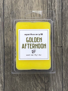 Golden Afternoon wax melt