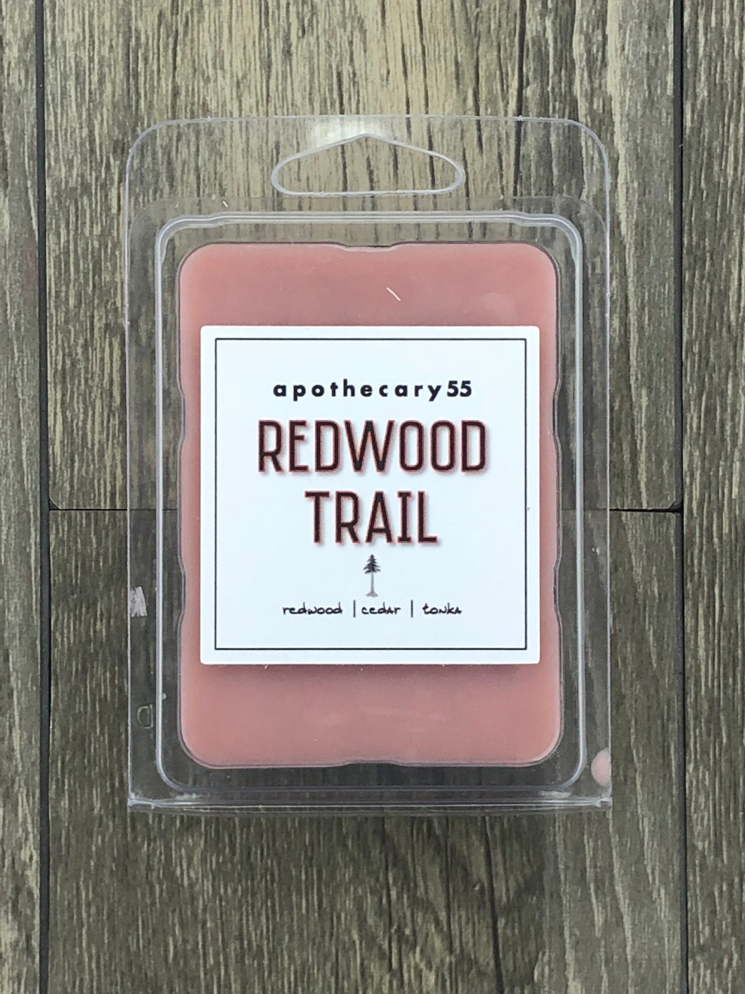 Redwood Trail wax melt
