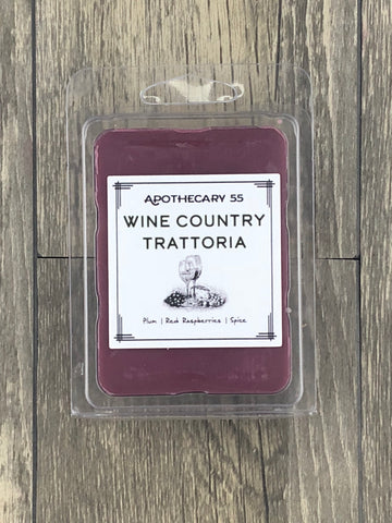 Wine Country Trattoria wax melt